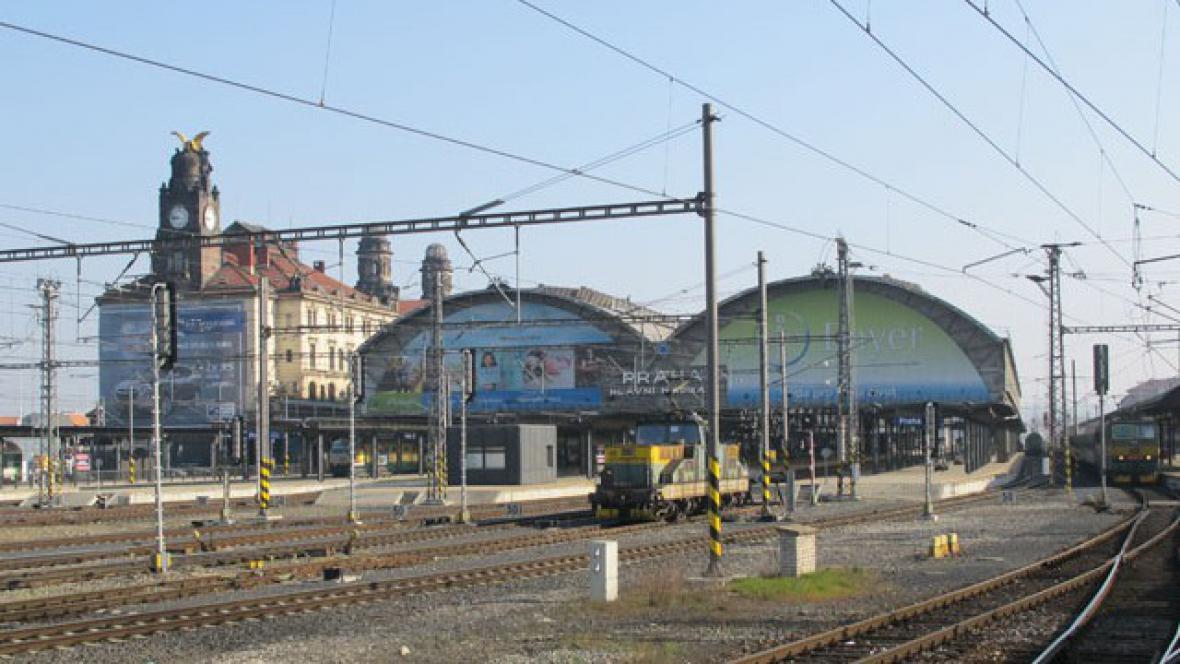Praha hlavní nádraží