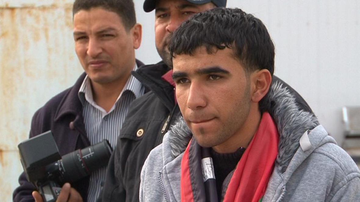 Nemocný Libyjec