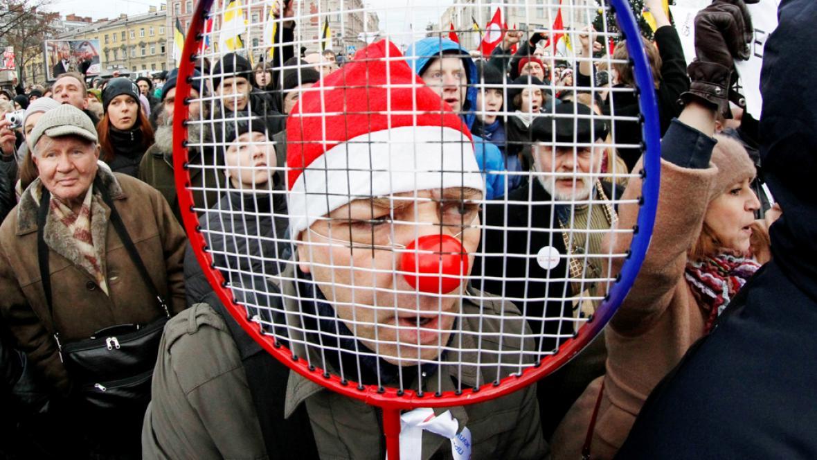 Protesty v Rusku