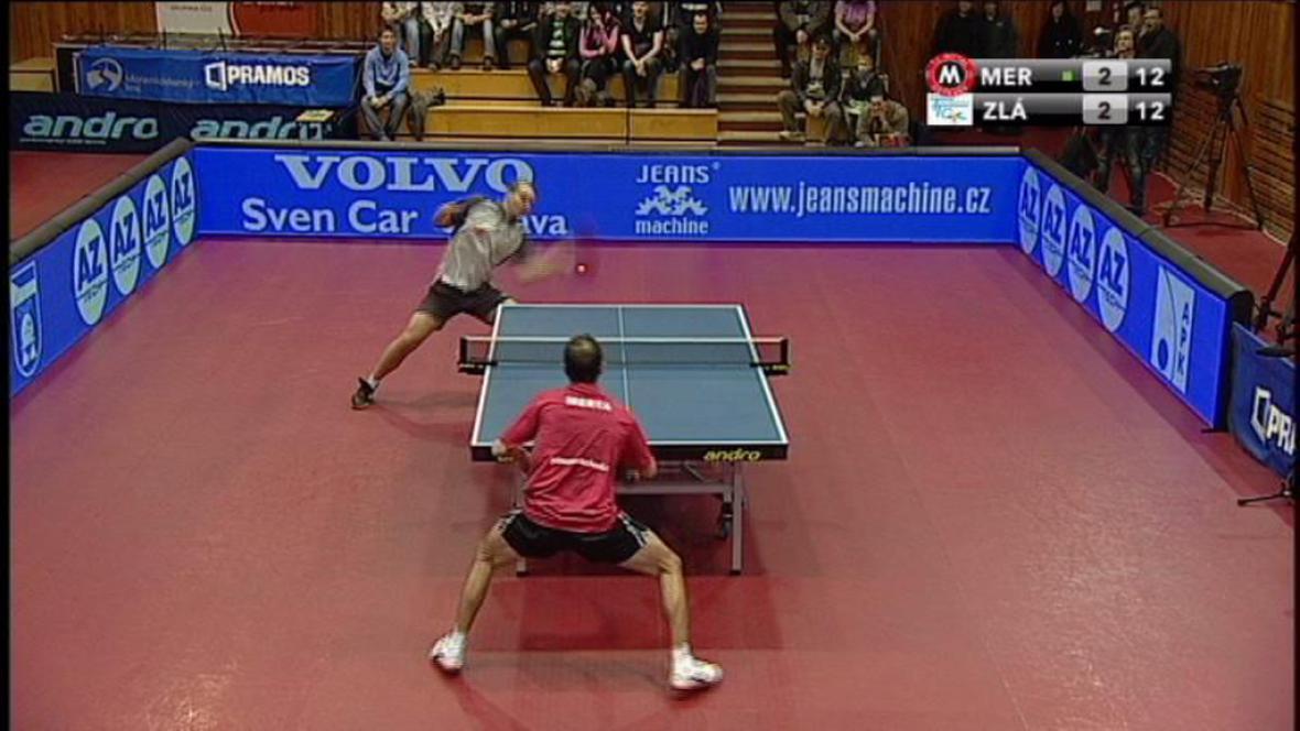 Ping pong Extraliga Ostrava x Olomouc
