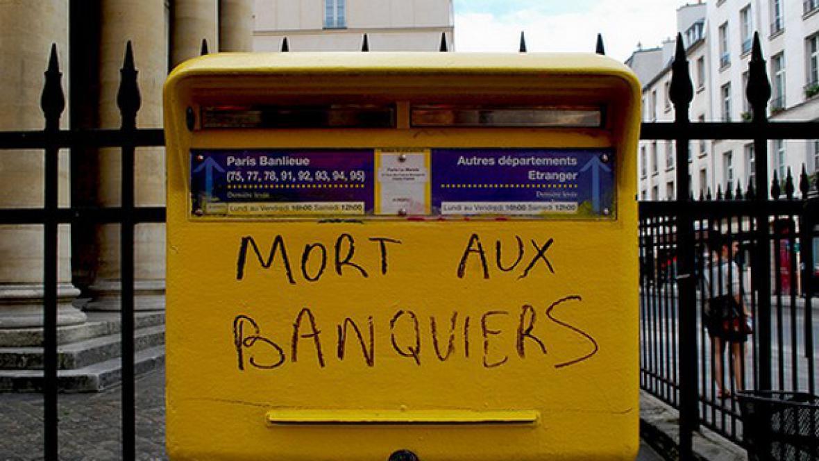 Grafitti v Paříži