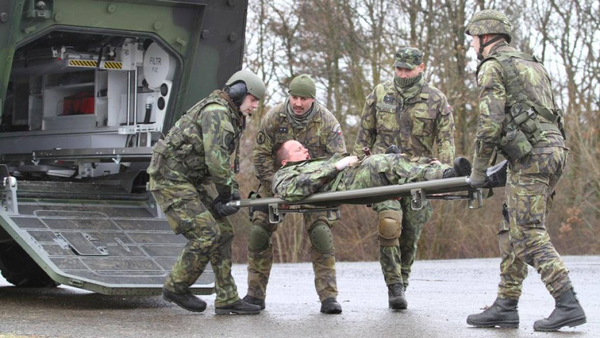Vojenské cvičení v Hradišti