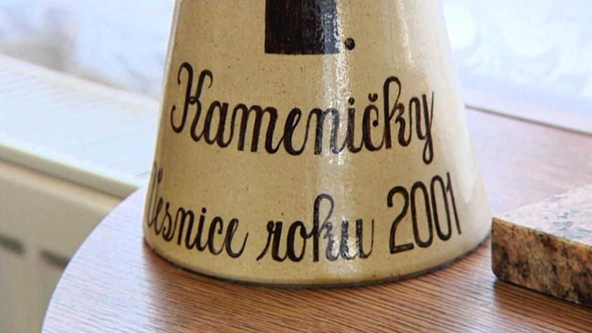 Vesnice roku 2001 - Kameničky