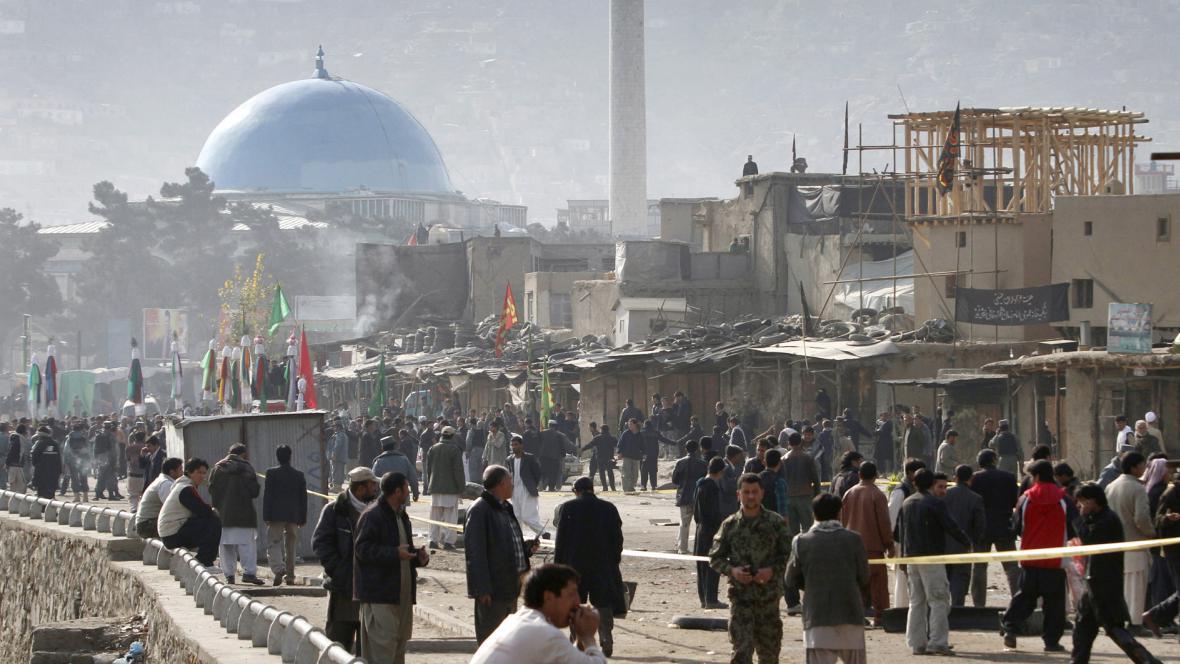 Sebevražedný útočník odpálil v Kábulu bombu