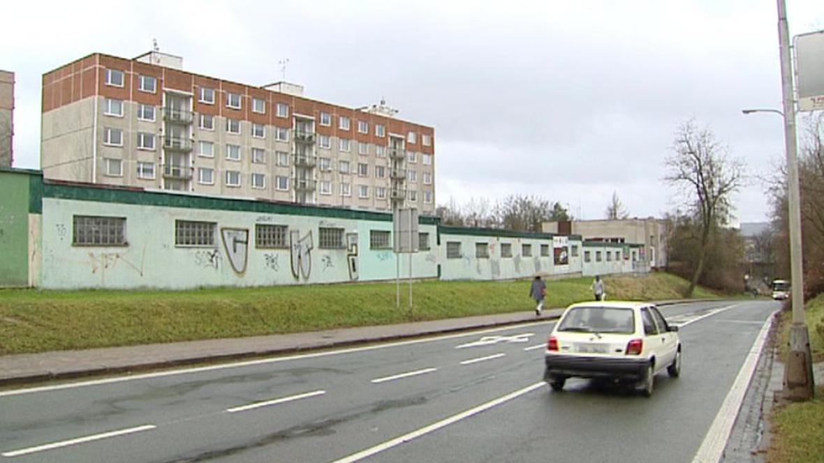 Legionářská ulice ve Dvoře Králové
