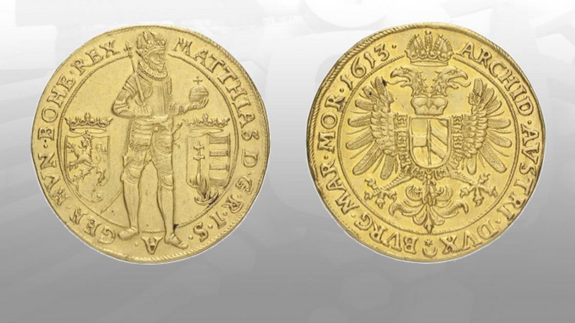 Desetidukát z roku 1613