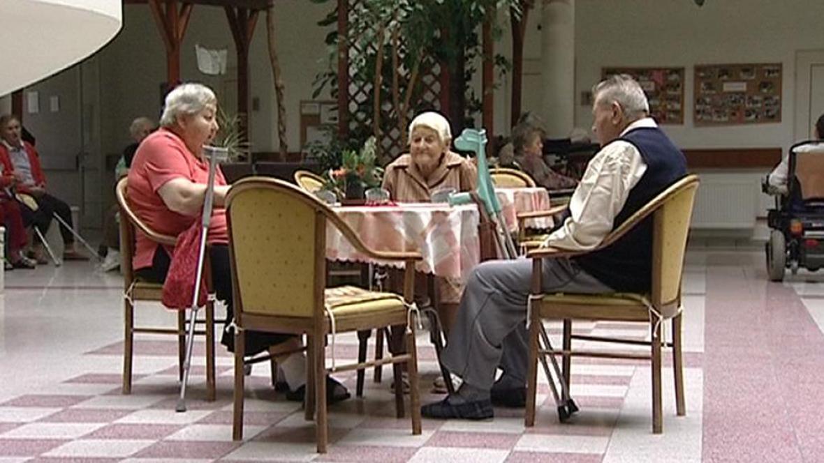 Obyvatelé táborského Domova pro seniory