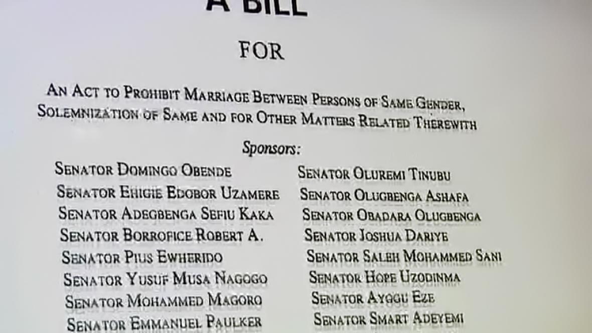 Nigerijský zákon diskriminuje homosexuály