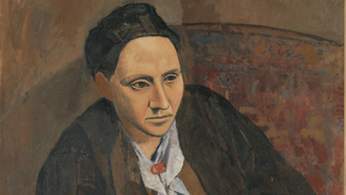 Pablo Picasso / Gertrude Stein (détail)