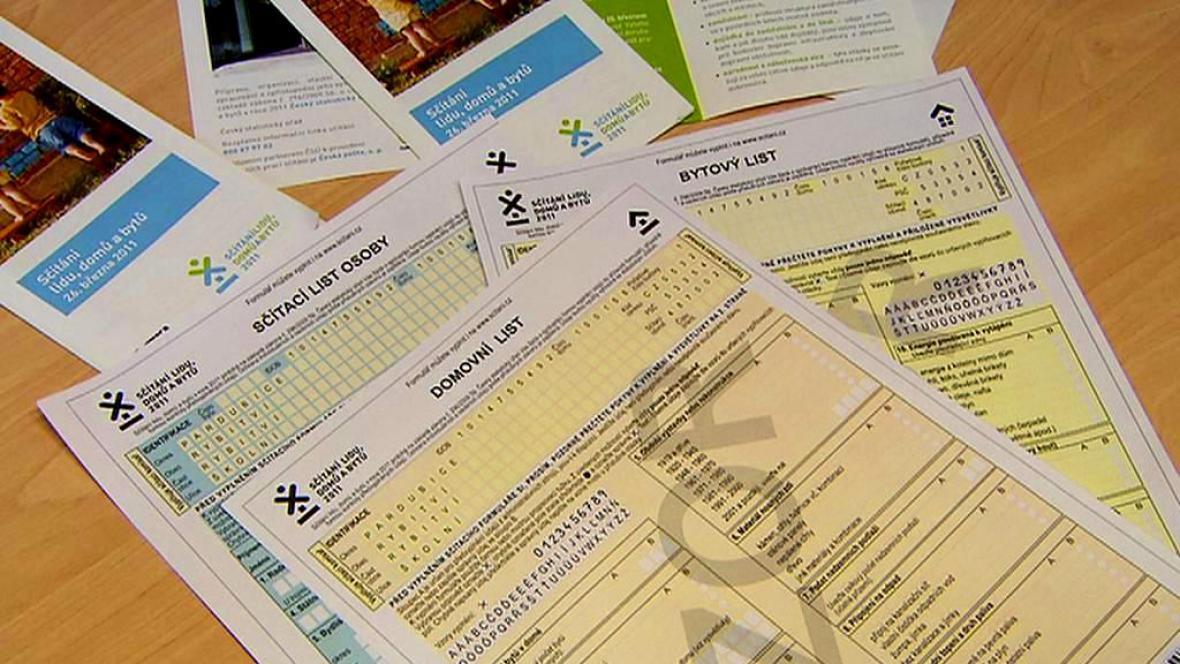 Formuláře pro sčítání lidu