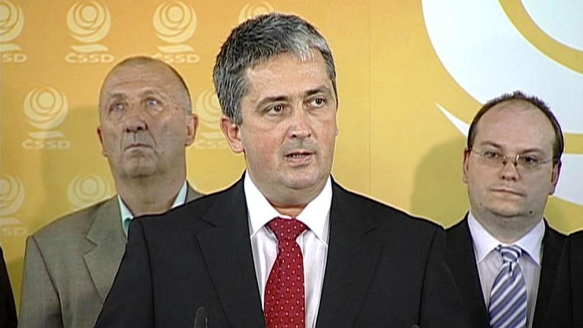 Předseda pražské ČSSD Petr Hulinský