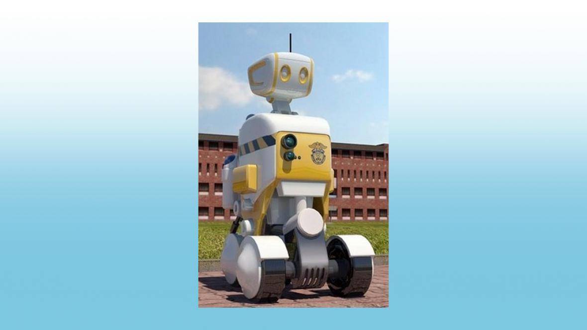 Korejské vězně budou hlídat na zkoušku roboti