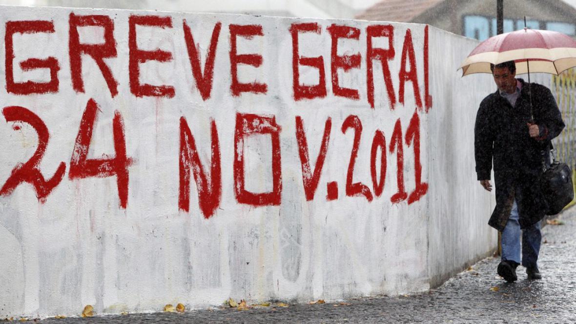 Stávka v Portugalsku