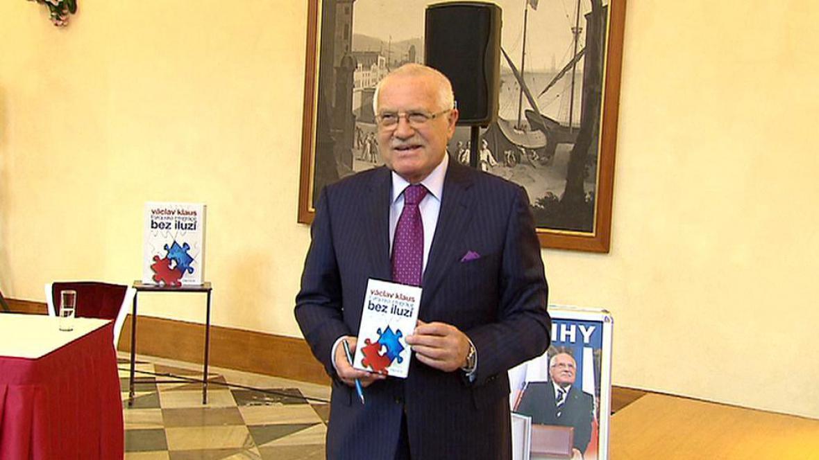 Prezident Klaus se svou novou publikací