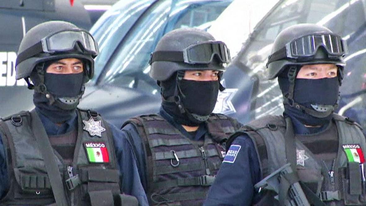 Zásahová jednotka mexické policie