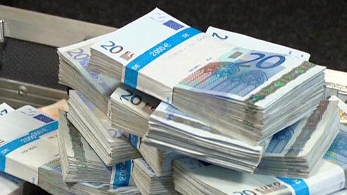 Dvacetieurové bankovky