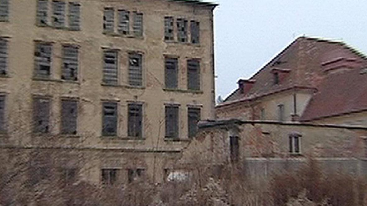 Areál továrny Bytex
