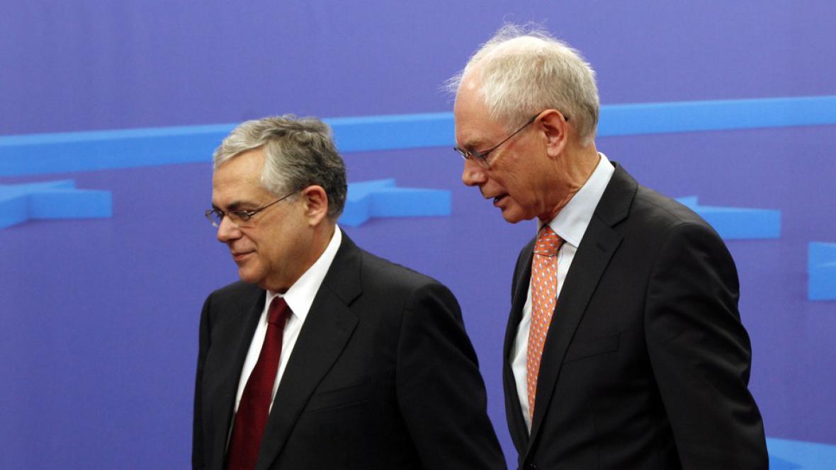 Lukas Papademos a Herman van Rompuy