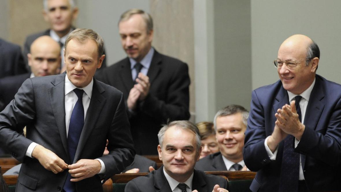 Tuskova nová vláda má důvěru