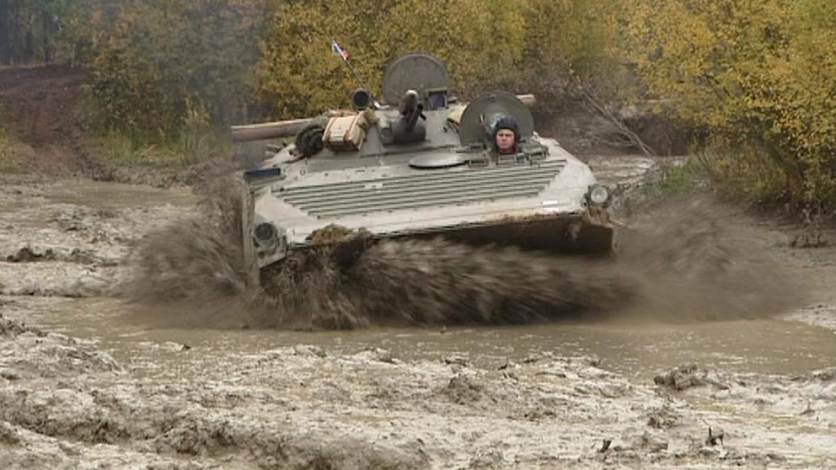 Nasazení tanků v lokalitě Plachta