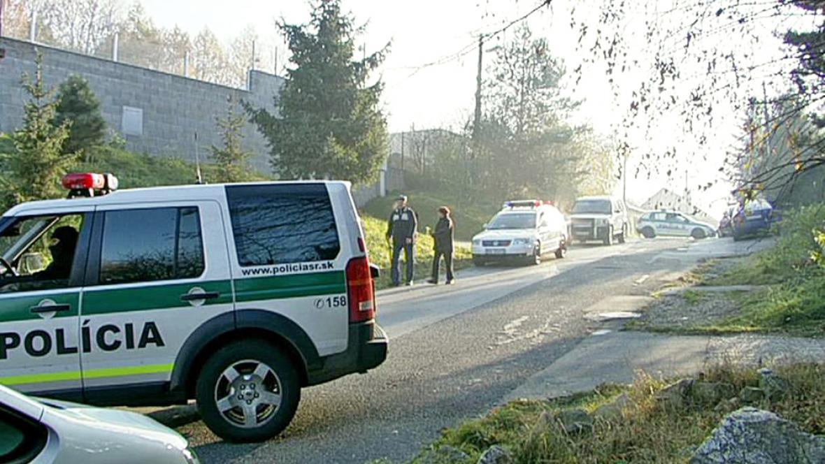 Zásah slovenské policie