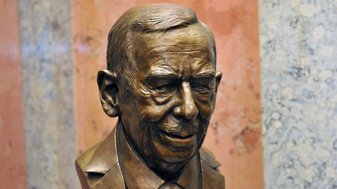 Busta Václava Havla