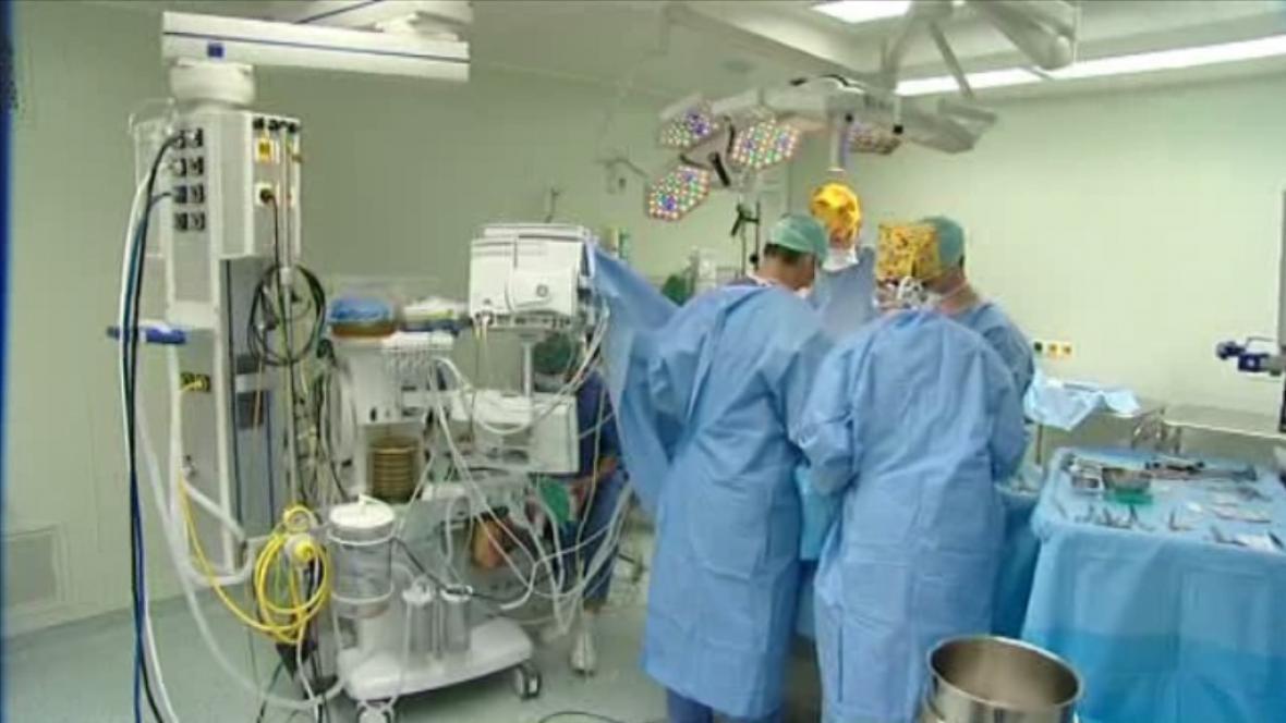 Lékaři dětské kliniky v Olomouci