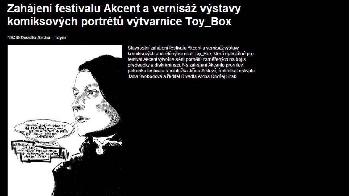 Akcent / zahájení