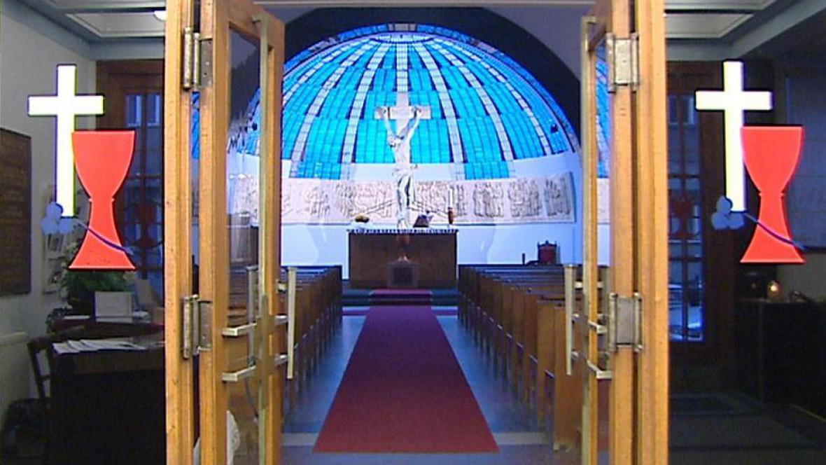Stánek Československé církve husitské
