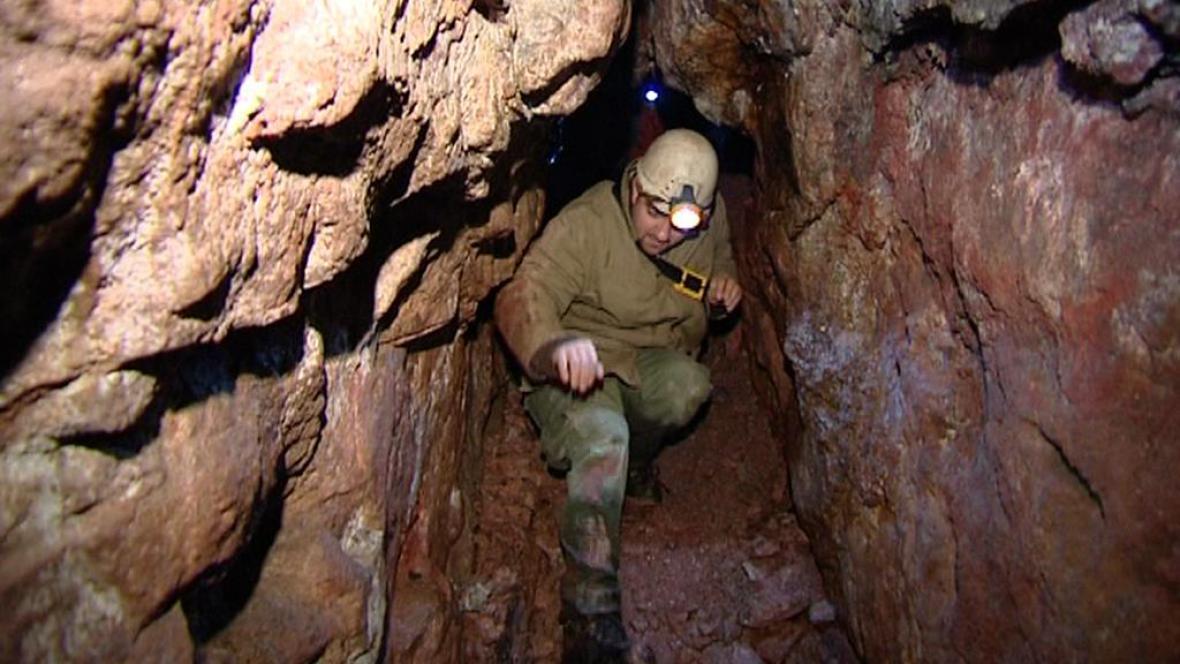 Cínový důl u Abertam na Karlovarsku