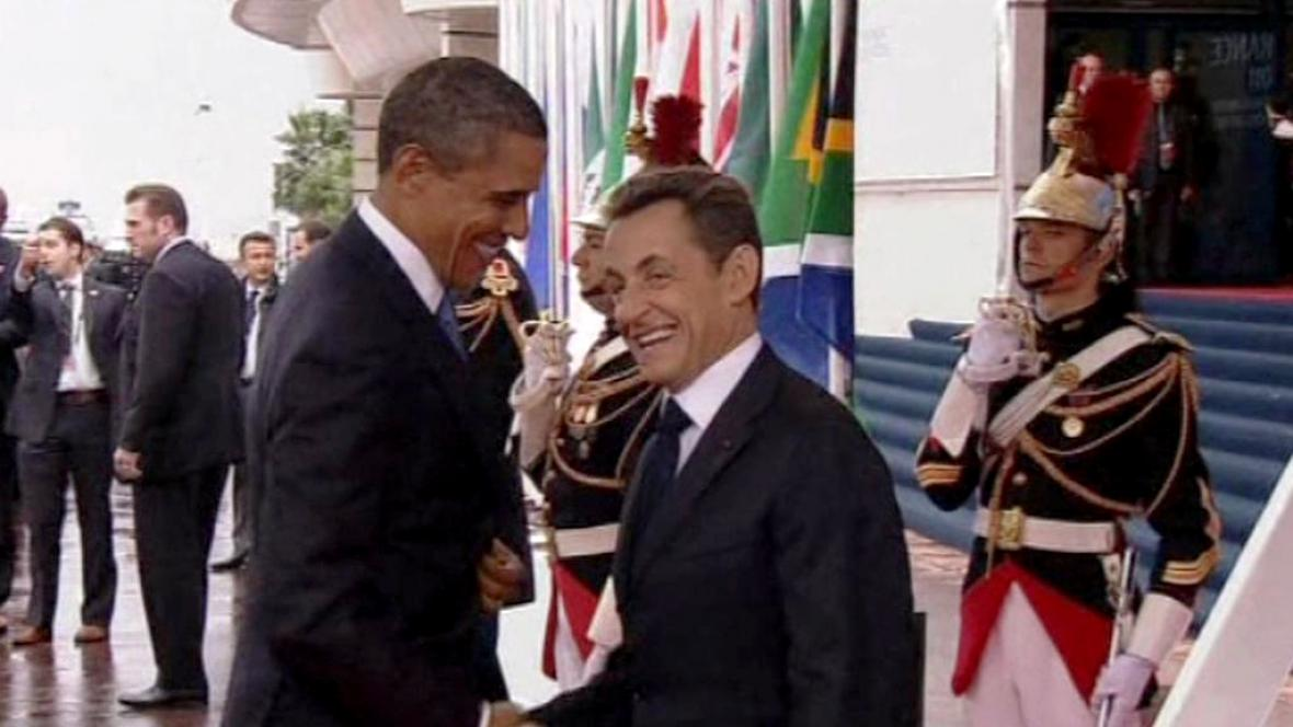 Obama a Sarkozy