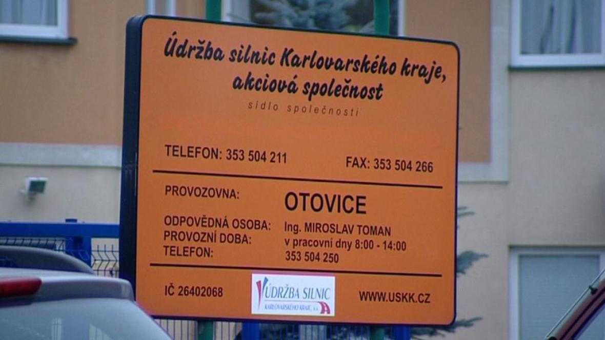 Údržba silnic Karlovarského kraje, a. s.