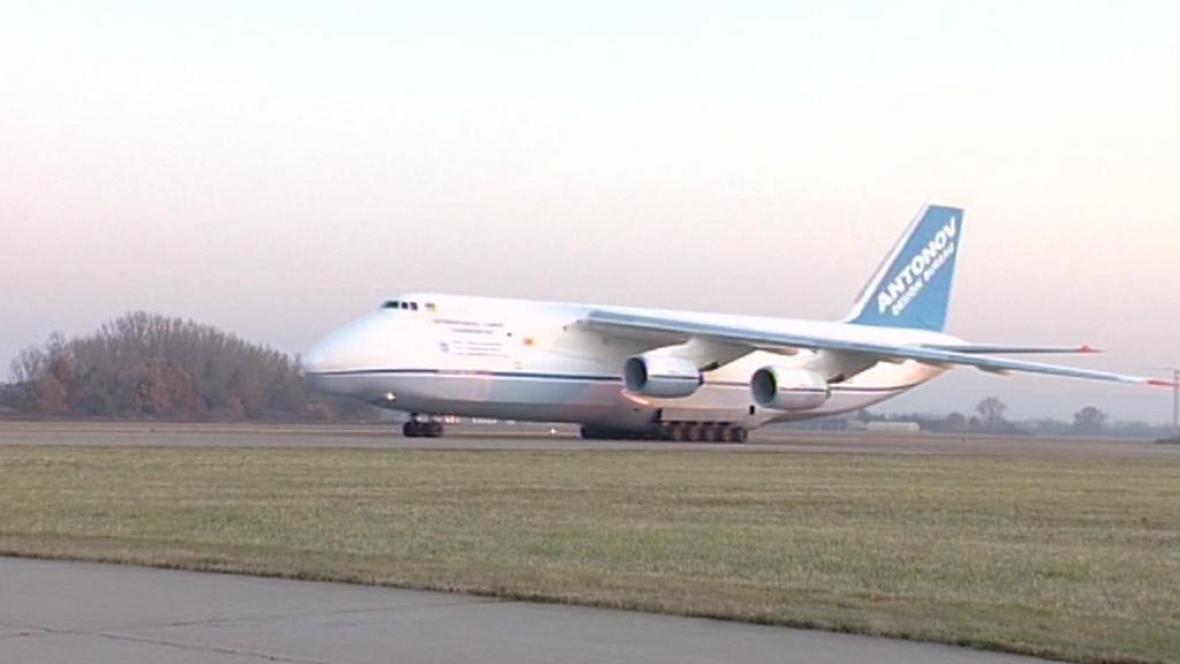 Dopravní letadlo Antonov Ruslan