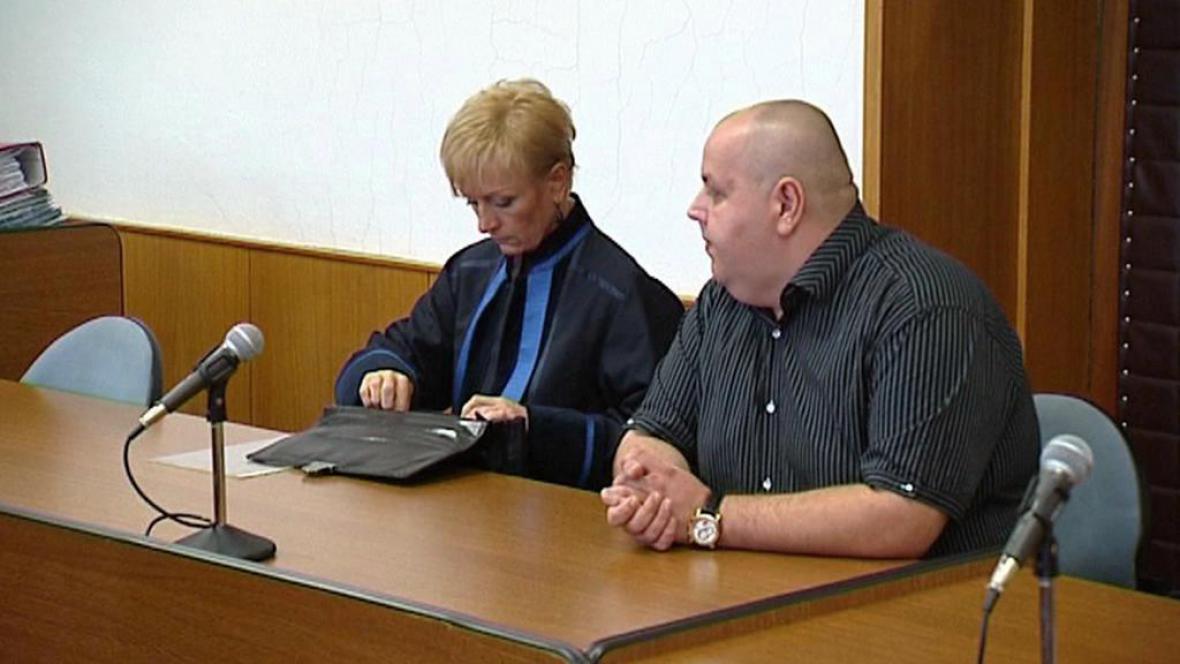 Pavel Pešát u soudu