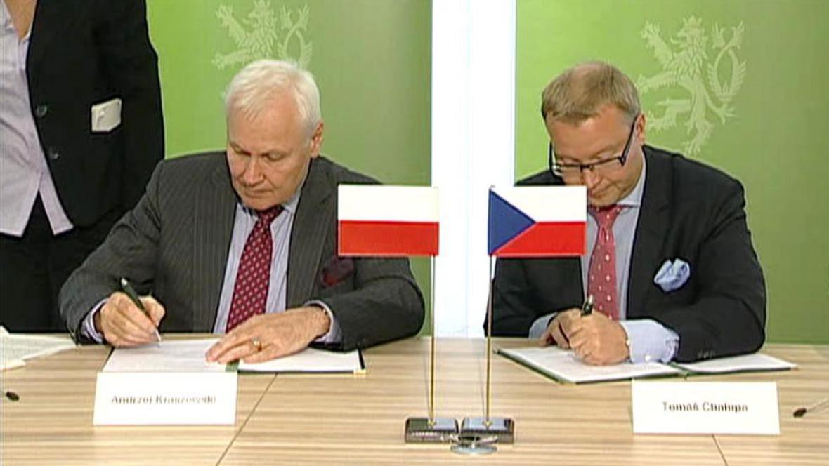 Tomáš Chalupa a jeho polský protějšek Andrzej Kraszewski
