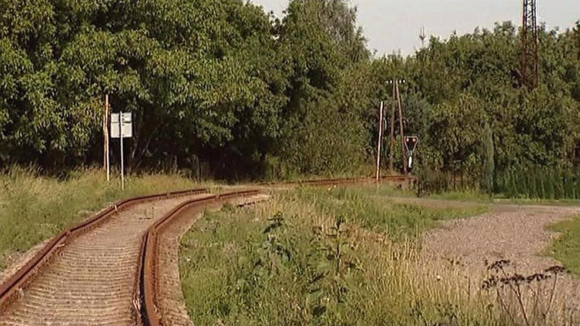 Bývalá trať do Hostašovic