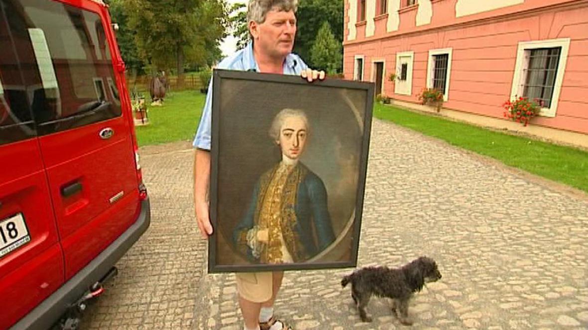 Obraz hraběte Josefa Václava Bruntálského z Wrbna