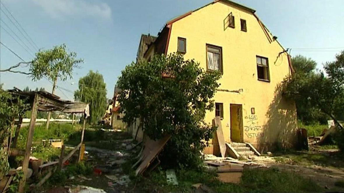 Bývalé ghetto Vagonka