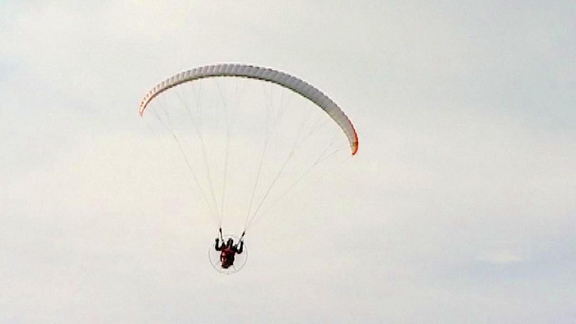 Létání na motorovém kluzáku