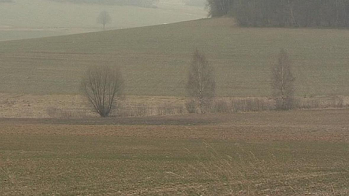 Místo, kde má vyrůst bioplynová stanice