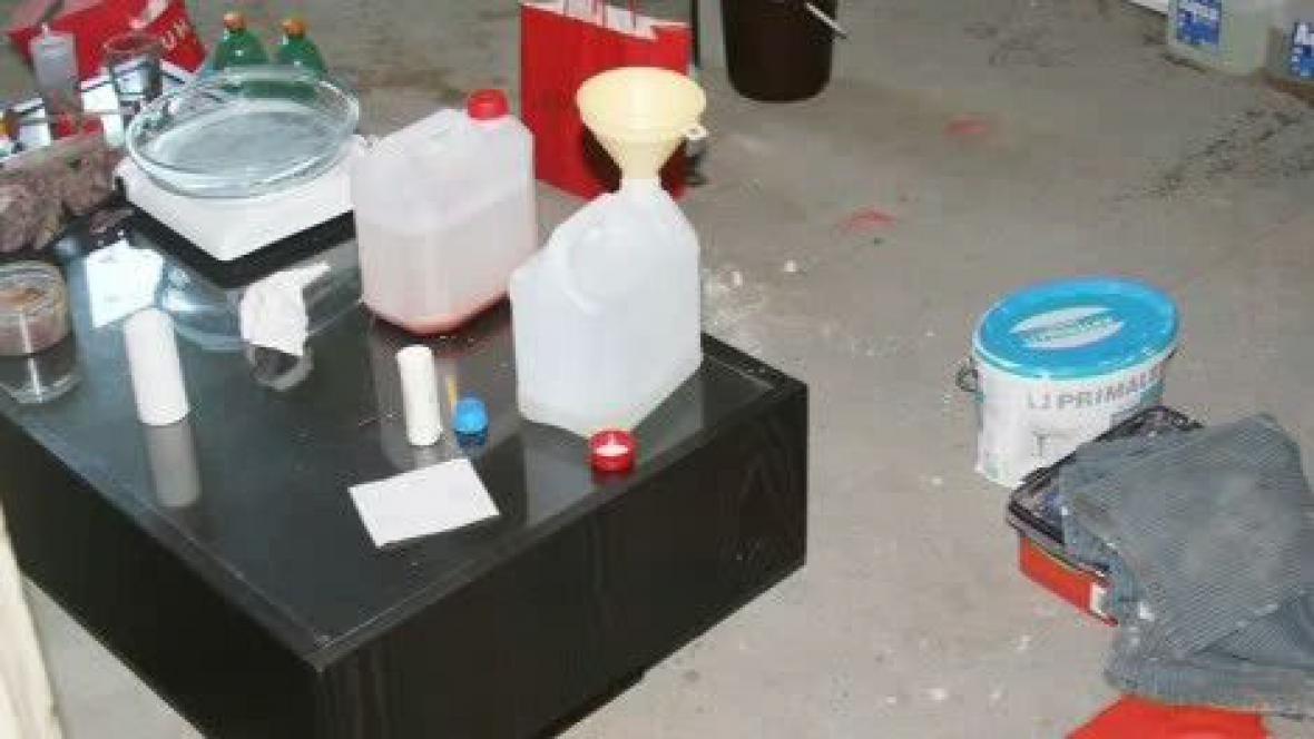 Výroba pervitinu