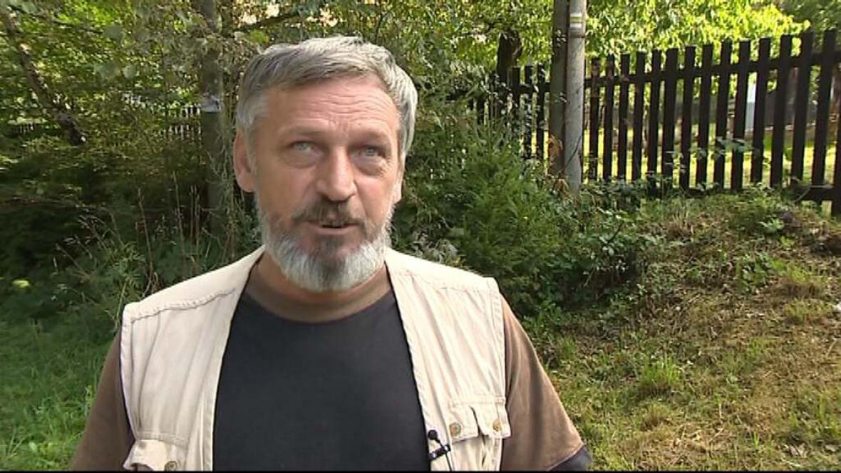 Rudolf Fárek, kterého okradli o les
