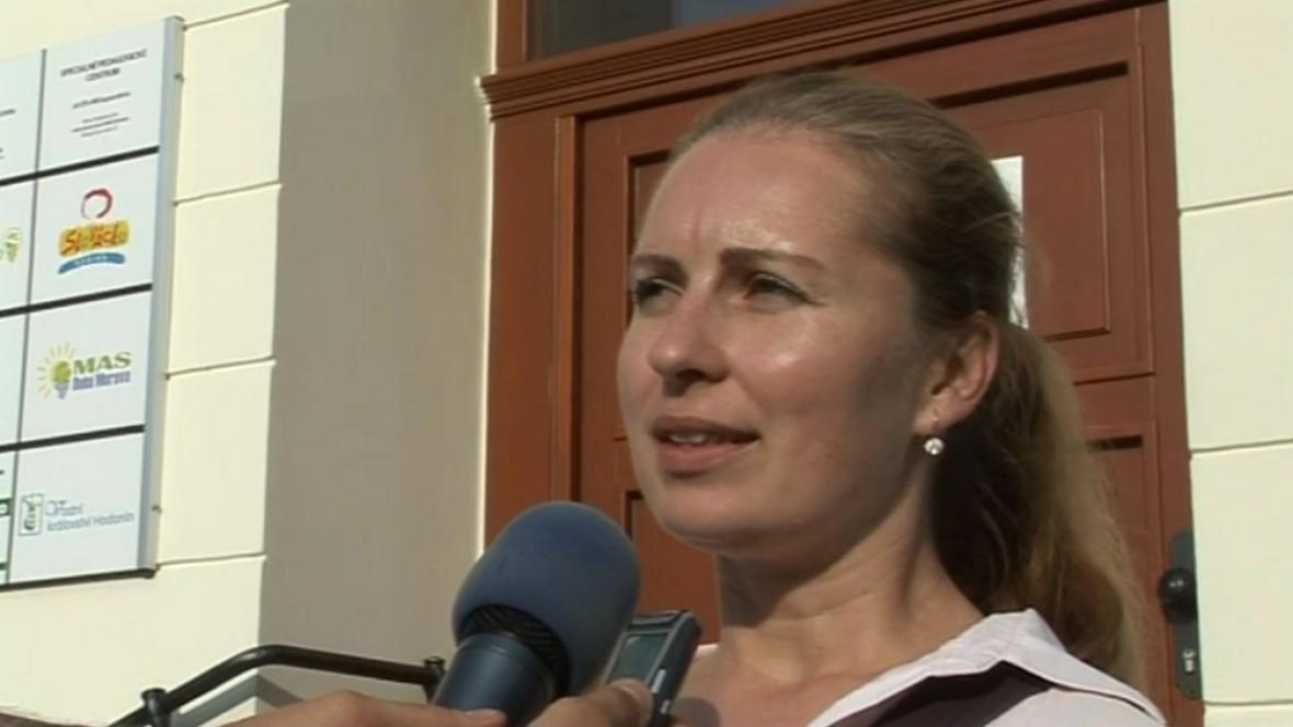 Exředitelka Domu kultury v Hodoníně Lucie Hostačná