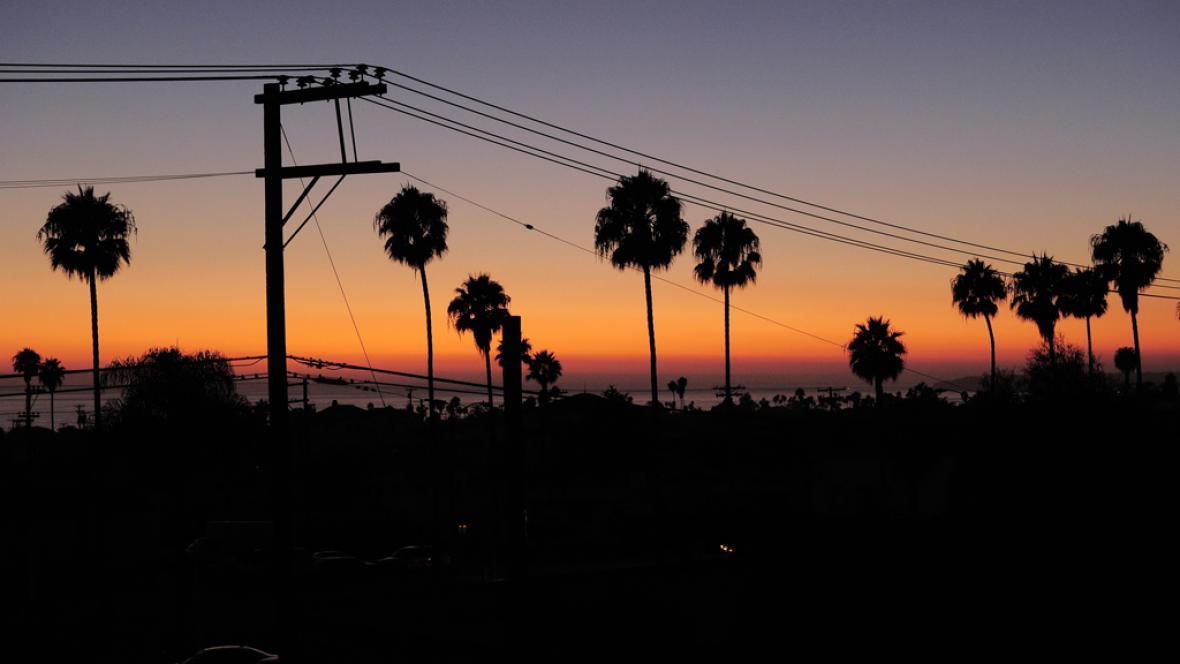Výpadek proudu v USA