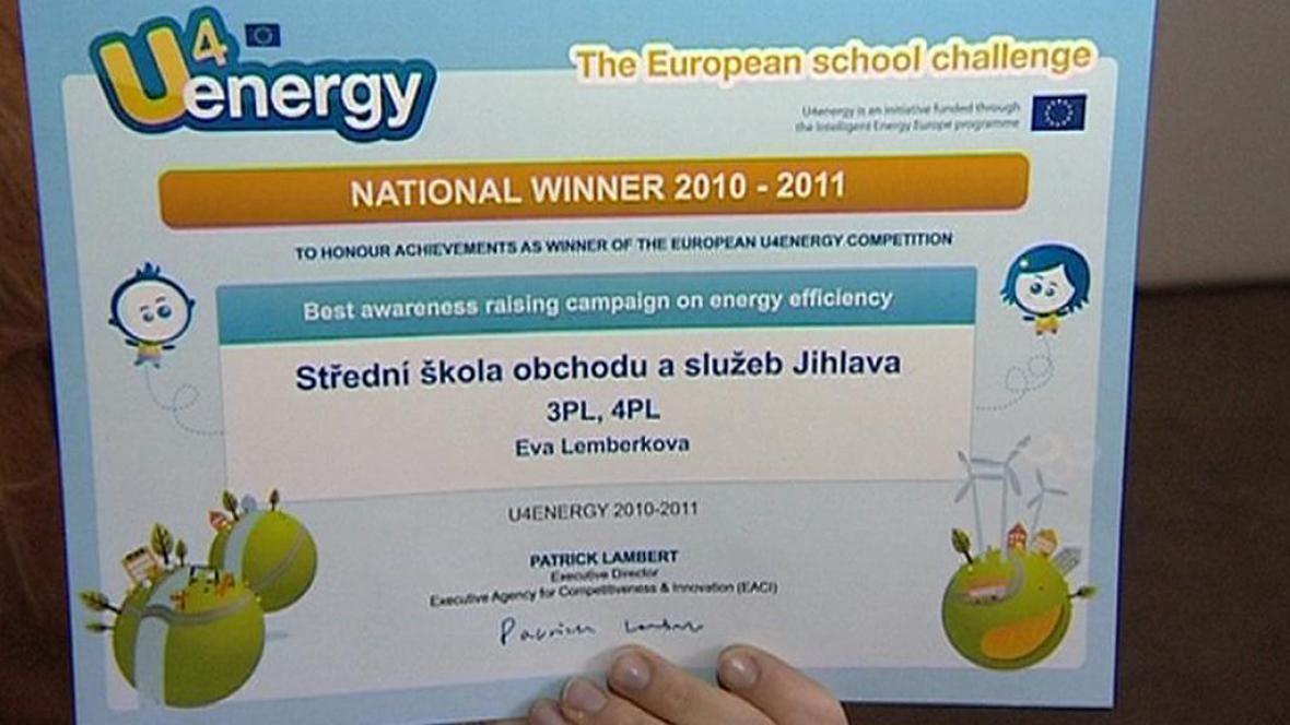 Vítězný diplom