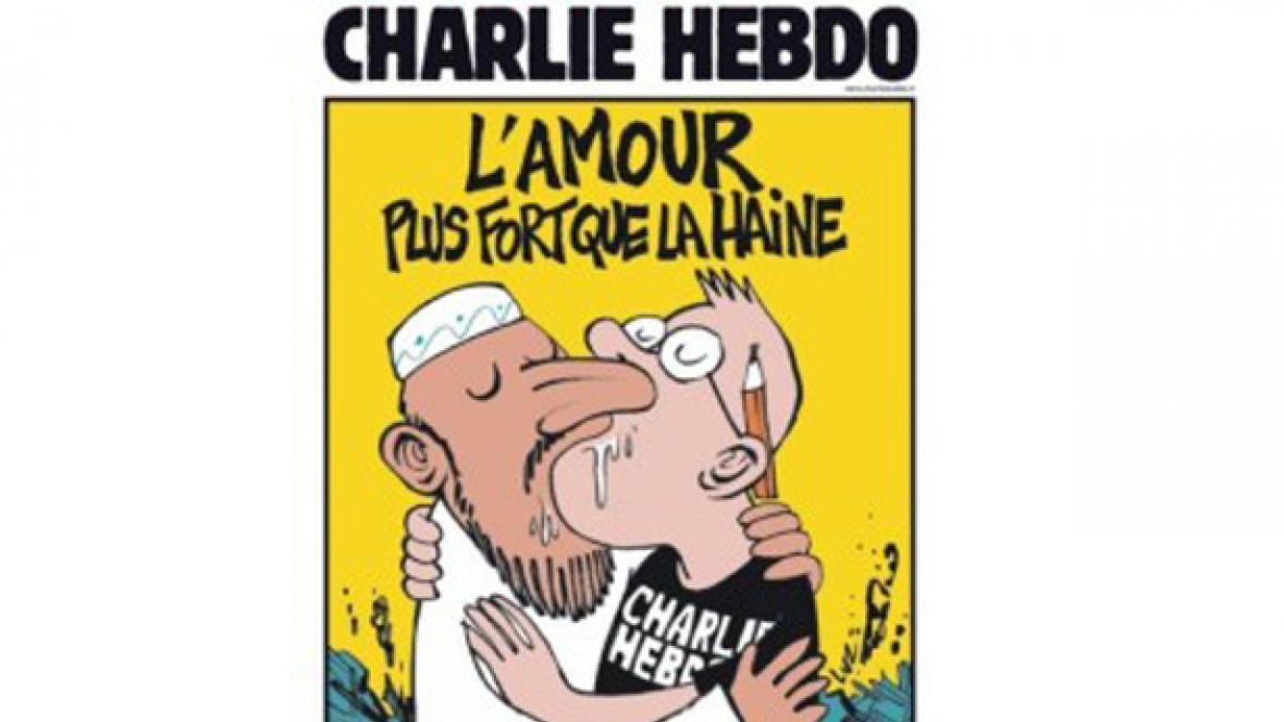 Nový obal časopisu Charlie Hebdo
