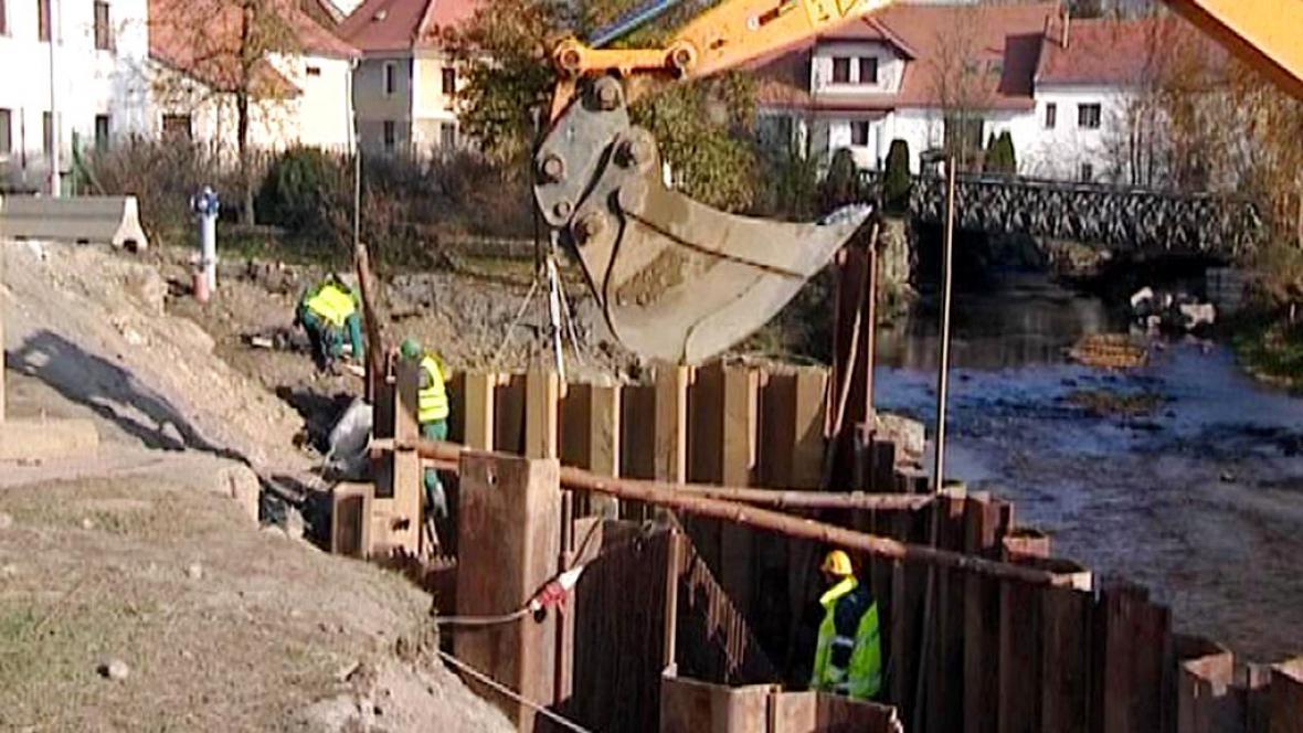 Stavba nového mostu