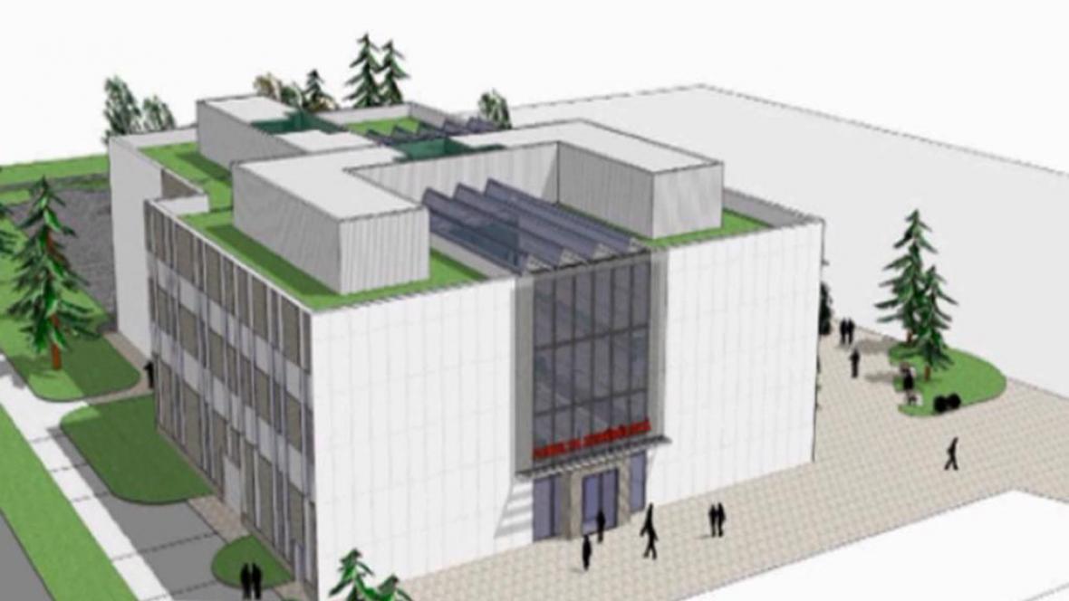 Vizuální projekt nového kampusu