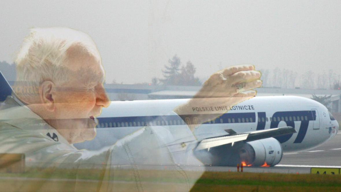 Držel nad boeingem ochrannou ruku Jan Pavel II.?