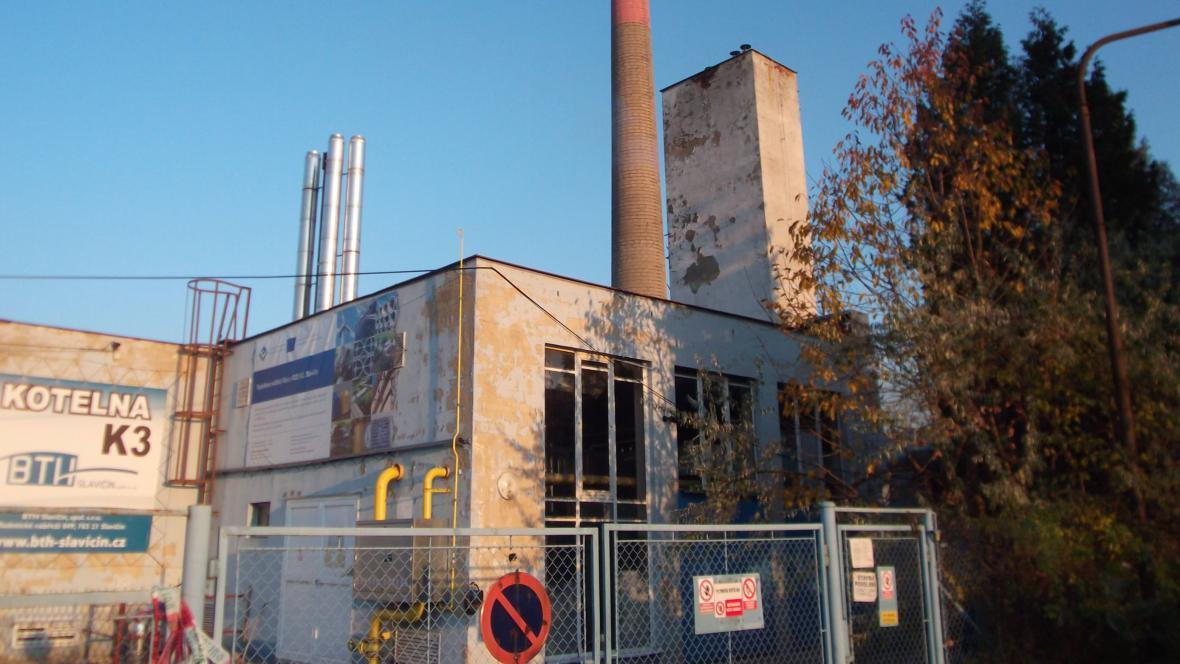 Slavičínská spalovna bioodpadu po výbuchu kotle